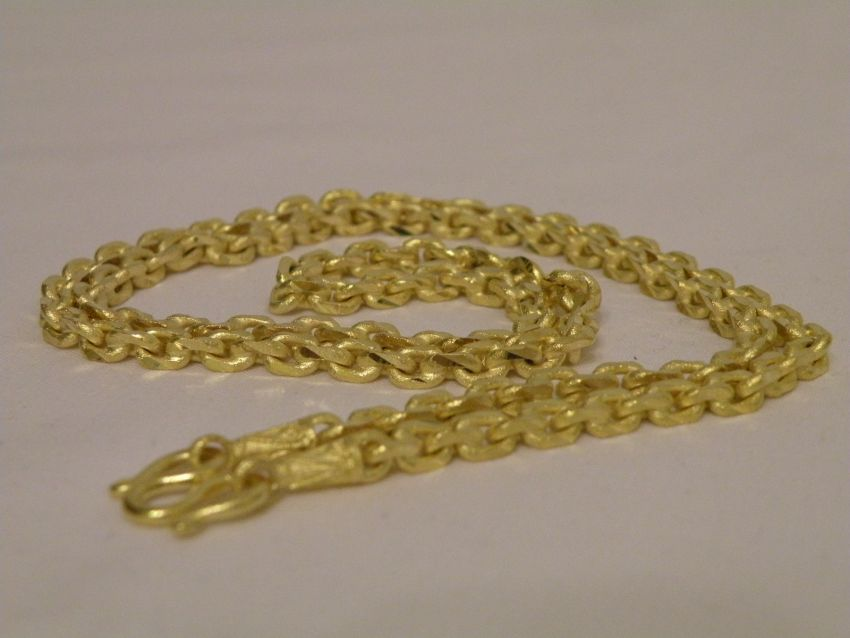 Gold Necklace Thai Gold plated with 23 Karat 63cm 25 Baht